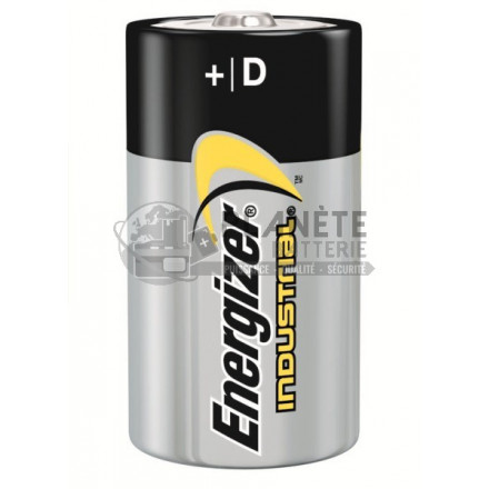 Boîte de 12 piles alcalines D - LR20 ENERGIZER INDUSTRIAL