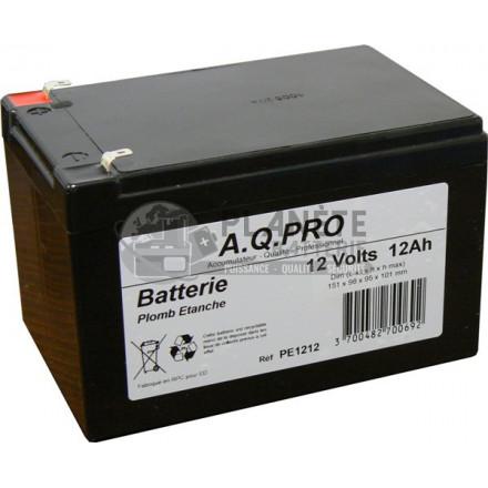 Batterie plomb étanche VRLA AGM flamme retardante 12V 13.2Ah VRLA AGM flamme retardante