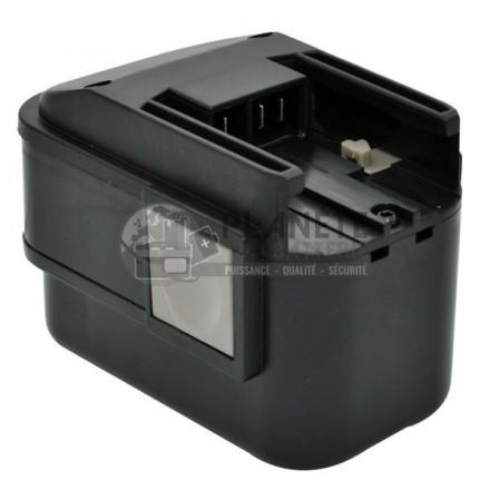 Batterie type AEG MX9.6 / PES 9.6 PBS 3000 - 9.6V NiMH 3Ah