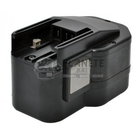 Batterie type AEG B14.4 / BXS14.4 PBS 3000 – 14.4V NiCd 2A