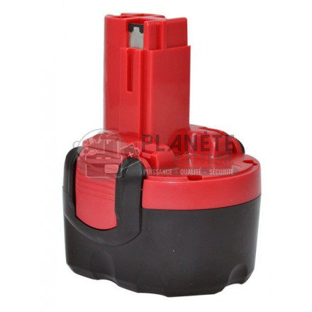 Batterie type BOSCH 2607335260 / 2607335524 - 9.6V NiCd 2Ah