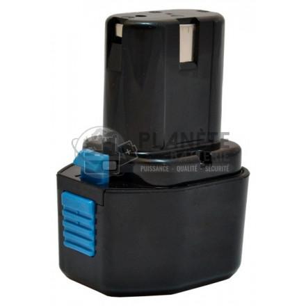Batterie type HITACHI EB714S / EB7 - 7.2V NiCd 2Ah