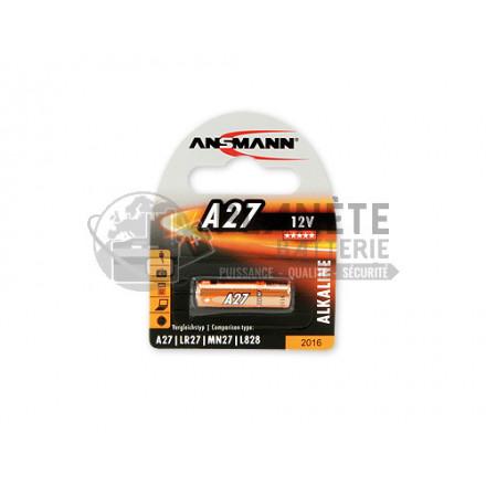 PILE A27 12V ALCALINE B1