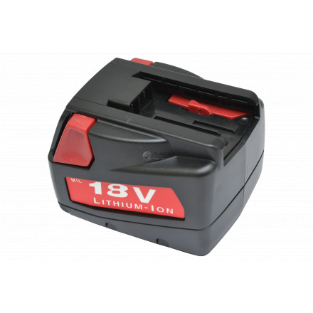 Batterie type MILWAUKEE V18 / V18DD – 18V Li-Ion 2Ah