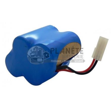 Batterie aspirateur SHARK - 4.8V NiMH 3000mAh - Compatible aspirateur X1725QN EURO PRO SHARK