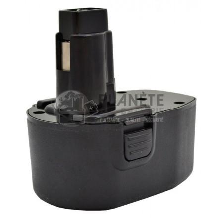 Batterie type BLACK & DECKER - 14.4V NiMH 3Ah