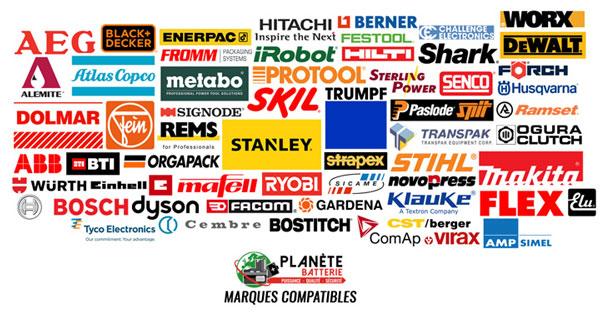 Marques Batteries compatibles AQ Pro